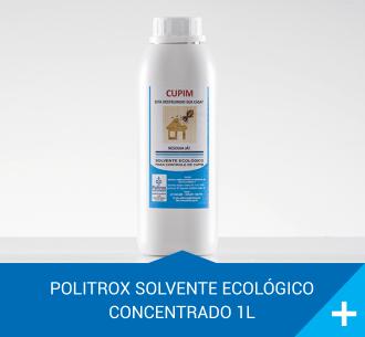 politrox solvente ecologico concentrado 1l
